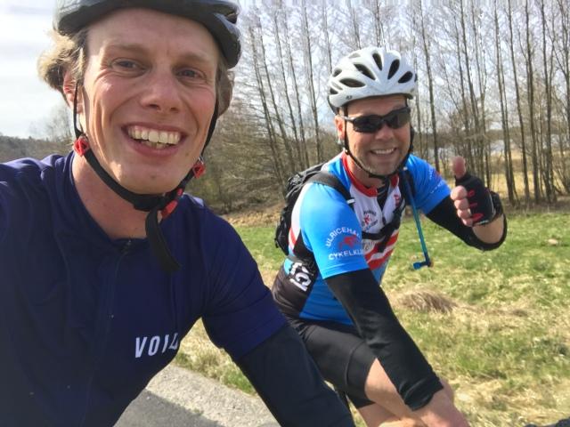 Västgötaloppet Cykel Fredrik Fridmar och Erik Wickström