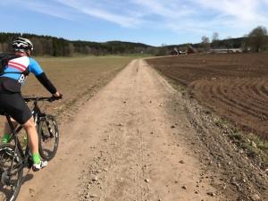 Västgötaloppet Cykel grusväg Fredrik Fridmar