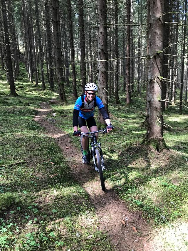 Västgötaloppet Cykel stig Fredrik Fridmar