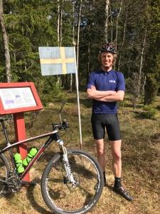 Galtåsen. Västgötlands högsta punkt. 361,4 meter över havet.