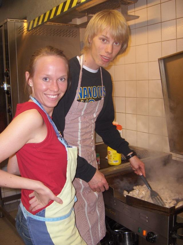 Så här såg Ida och jag ut på någon nation i Lund 2005, 2 år efter att vi blev ihop