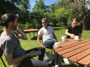 Anders Szalkai, Patrik Yderberg och Luca Mara. Ingen dålig trio.