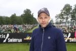 Henrik Alexandersson har barn på samma dagis som oss. Han körde sprinten med bravur.