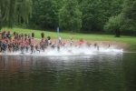 Starten Borås Triathlon 2017 halvironmandistans