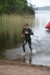 Nicklas Yderhag var som väntat bäst på simningen