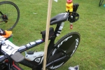Många hade med sig ett halvt bohag på cykeln