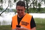 Jonas Colting, tävlingsledare för Borås Triathlon