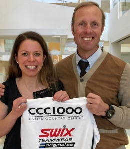 Maria Rydqvist och Fredrik Erixon i CCC1000