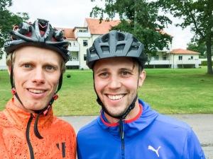 Johan Rosengren och jag har en gemensam bekant i Magnus Samuelsson från Hedared