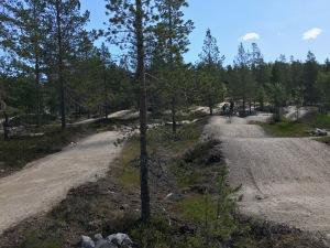 Pump tracken på Idre Fjälll