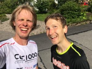 För ett par veckor sedan sprang jag med boråsaren Jakob Svensson. Kul med en ny träningskompis! Vi utgick från mig och sprang en lugnt tur på 17 km på stigar och grusvägar.