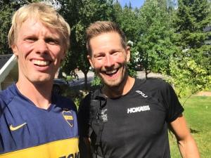 Heja på Erik Desmeules när han springer Ultravasan 45 i helgen