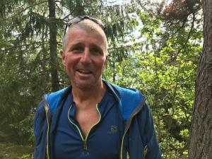 Stefan Carlsson, tävlingsledare för Västgötaloppet Trail