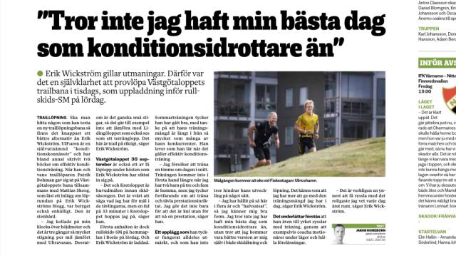 Ulricehamns Tidning tors 17 aug 2017.