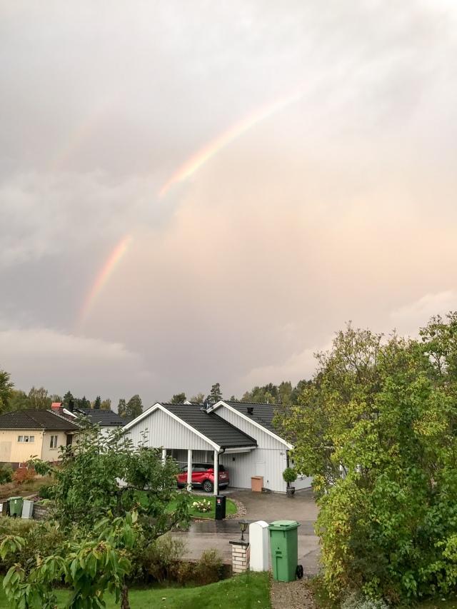 Regnbåge i Borås