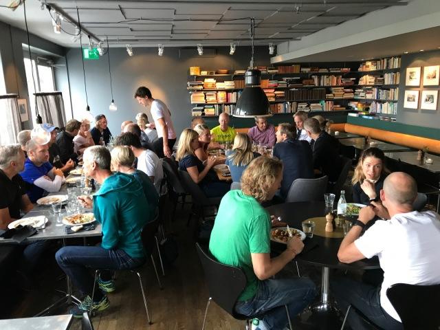 Lunch med CCC1000 på Mornington Hotel Bromma