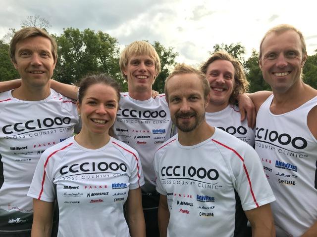 Tränarstaben i CCC1000 2017/2018. Leif Eklund, Maria Rydqvist, Erik Wickström, Magnus Nygren, David Holmström, Fredrik Erixon