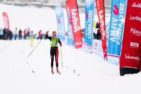 Katerina Smutna vinner Kaiser Maximilian Lauf 2017. Foto: Magnus Östh.