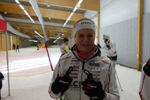 Catharina Söderström, CCC1000, i Torsbys skidtunnel