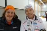 David Holmström och Leif Eklund