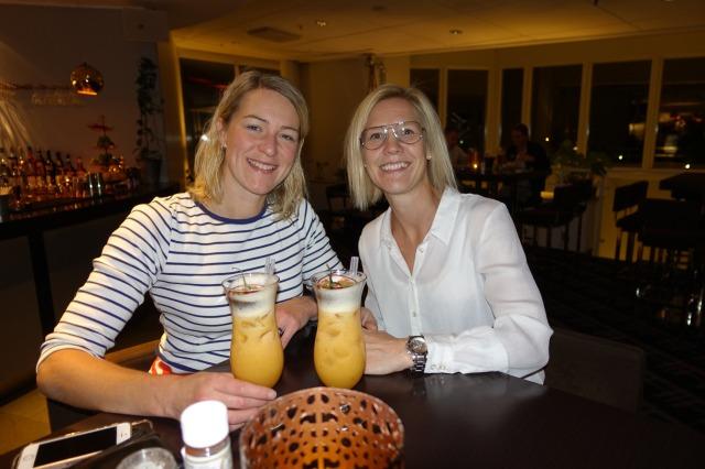 Mathilda Tidlund och Angela Johansson