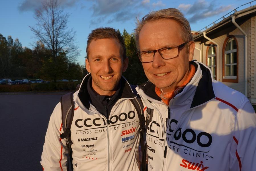 Erik Altenstam och Patrik Nilsson från CCC1000 Syd