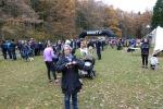 Rya Åsar Trail Runs tävlingsområde där det var start och målgång