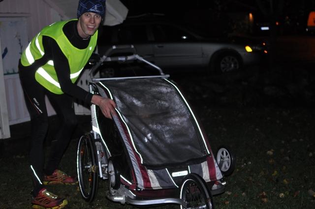 Läggningslöpning med dubbel-Chariot