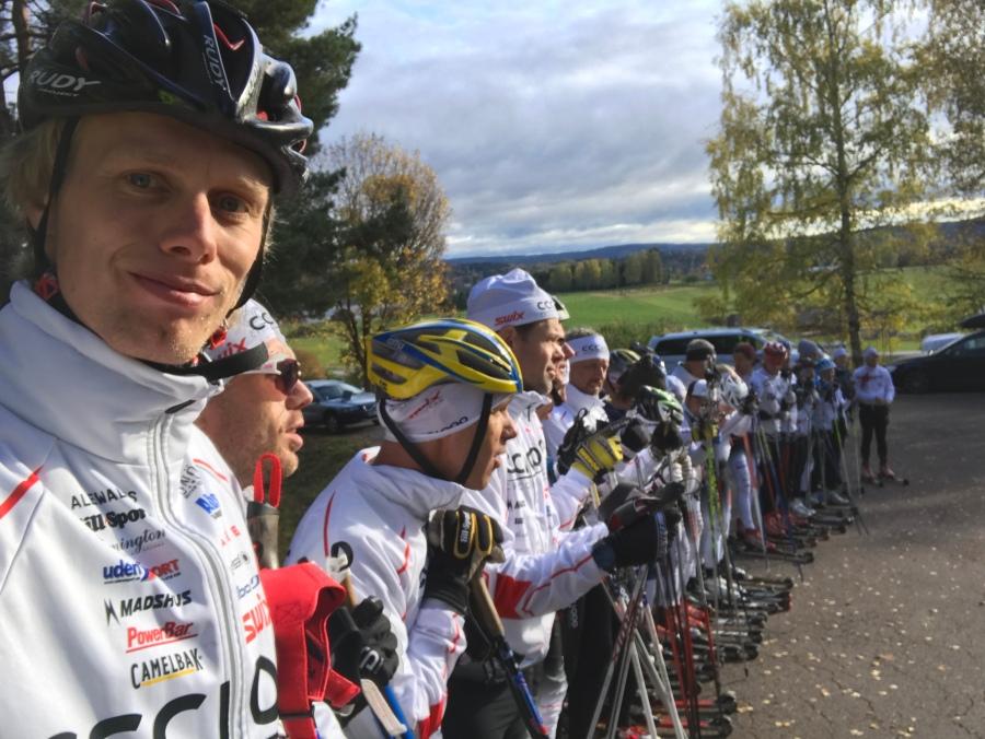 Över 35 deltagare på CCC1000-lägret i Värmland i år. Rekord tror jag.