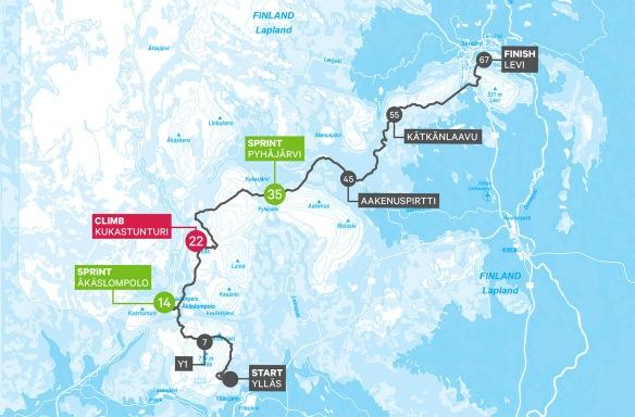 Yllas Levi 67 Km K I Finska Lappland Som Expertkommentator Erik