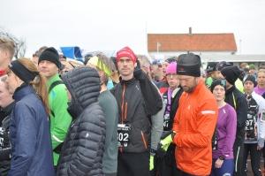 Niklas Lundgren, min svåger, sprang 12 km-loppet med bravur. Nille sprang utan mönstrade skor, vilket är en bedrift i sig.