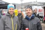 Bröderna Patrik och Niklas Boman bröt båda det brutal 16 mil-loppet