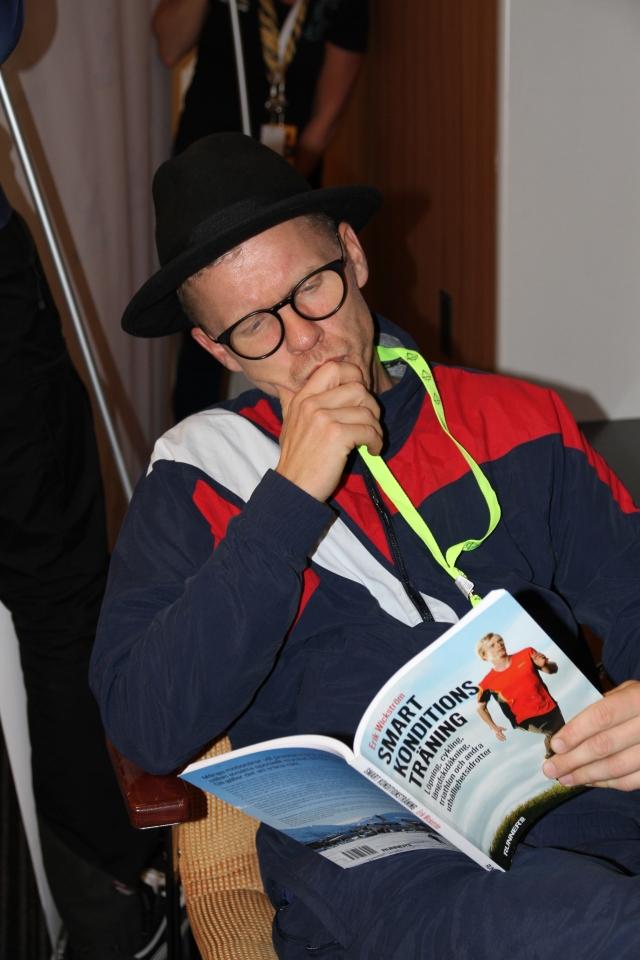 Bingo Rimér läste min bok noga