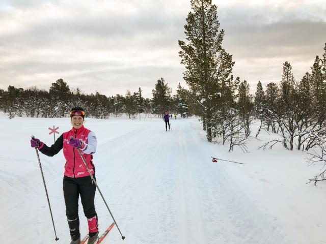Julia Davidsson är en skidåkande orienterare