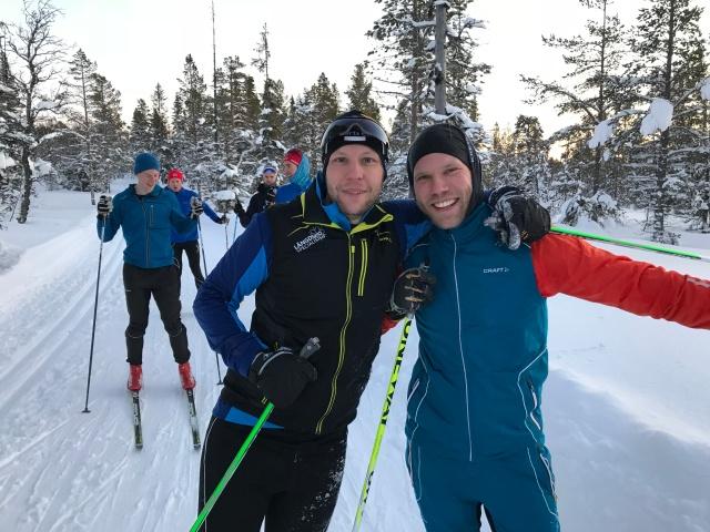 Boråsarna Mikael Ragneheim och Jakob Dahlbeck