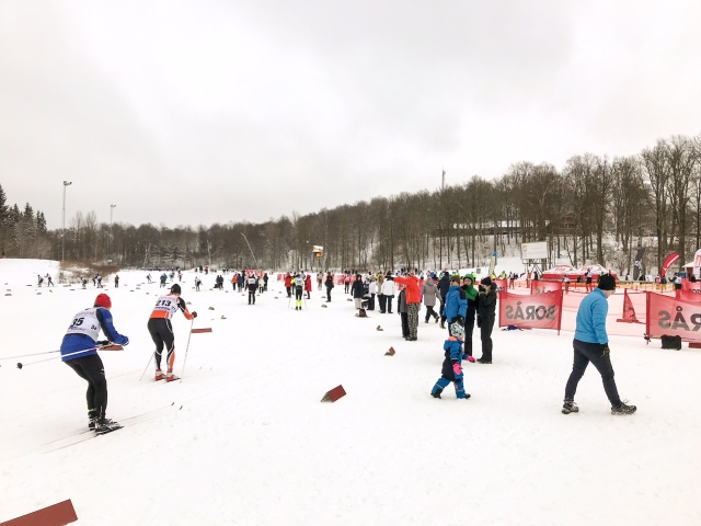 Borås Ski Marathon på Borås skidstadion