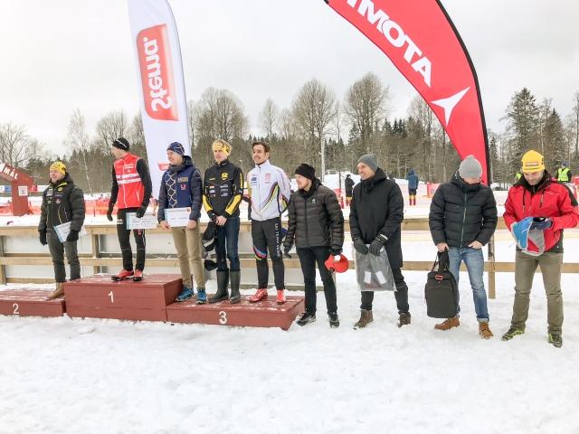 Herrarna prispall Borås Ski Marathon 2018