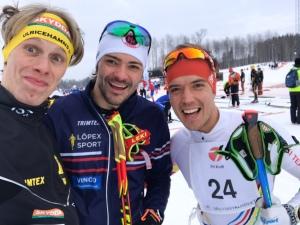 Typ tre skåning, jag har ju i alla fall två skånska föräldrar. Linus Larsson gör en bejublat comeback i år och Rickard Bergengren visar februariform.