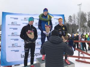 Ponutus Nordström vann Västgötaloppet 2018 före Ludwig Tärning och Andreas Svensson.