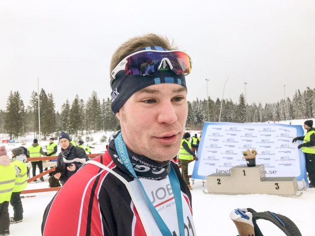 Edvin Wilsson, SM-medaljör i landsvägscykling
