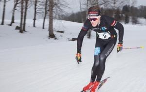 Simon Grenlöv i Vreta Ski Maraton 2018. Foto: Mikael Johansson.