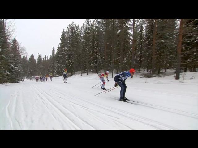 Här stack utbrytarna Joar Thele och Jan Srail efter ca 1,5 km enligt vad jag ser på bilderna. I något pressmeddelande stod de att de stack efter 3 km.