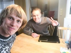 Joakim Lindholm gör tillsammans med Philip Lejon exjobb om uthållighetsidrott vid programmet Excecutive MBA vid Handels i Göteborg