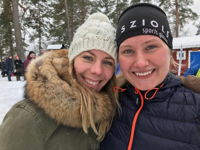 Rebecka Grenlöv och Marika Sundin, Simon och Rickards andra hälftar