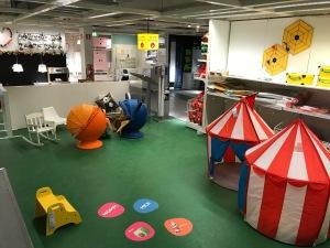 Här lekte barnen i typ en halvtimme. Första gången i mitt liv jag kan minnas att jag var på IKEA var också i Kållered. Det var 2006 direkt efter mitt första maratonlopp. Jag minns att jag tyckte besöket på IKEA var jobbigare än loppet.