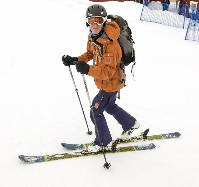 Skimo, ski mountaineering, randonnée, topptursskidåkning eller vad det nu heter. Sälen var väl kanske inte rätt plats, men roligt och bra träning!