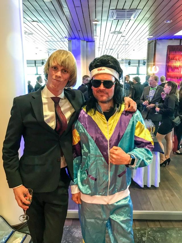 Øystein Pettersen var enligt honom själv klädd som Björn Borg