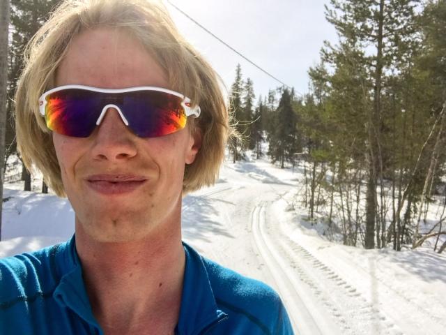 Nästa år vill jag enbart åka skidor i mars och april