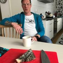 Kristian Poromaa äter inte ren, utan älg.