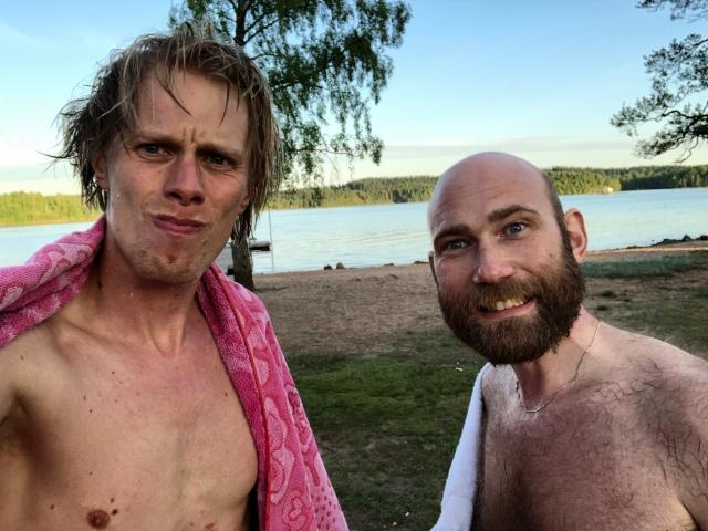 Bad i Sandared med Tobias Magnusson